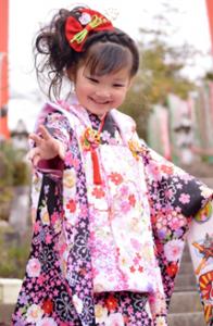 七五三 着物 3歳の女の子