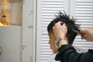 七五三 男の子 髪型