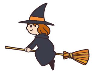 ハロウィンの魔女の帽子のつくり方