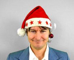 クリスマス 一人 男性