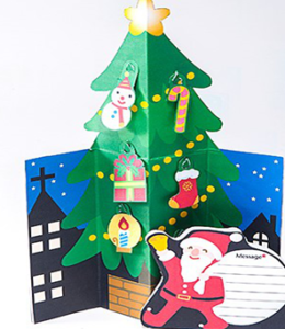 クリスマスカード テンプレート