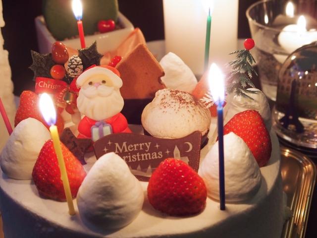 クリスマスケーキ手作りをいちごを使わず、別のもので代用して作る方法!