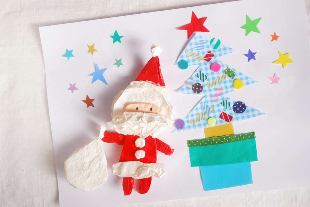 クリスマスカード手作り簡単にできるテンプレートを紹介!