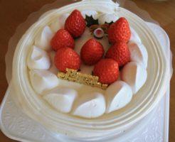 阪急百貨店クリスマスケーキ