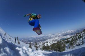 平昌オリンピックのスノーボード