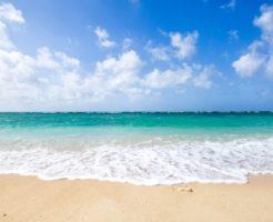 沖縄5月 海水浴