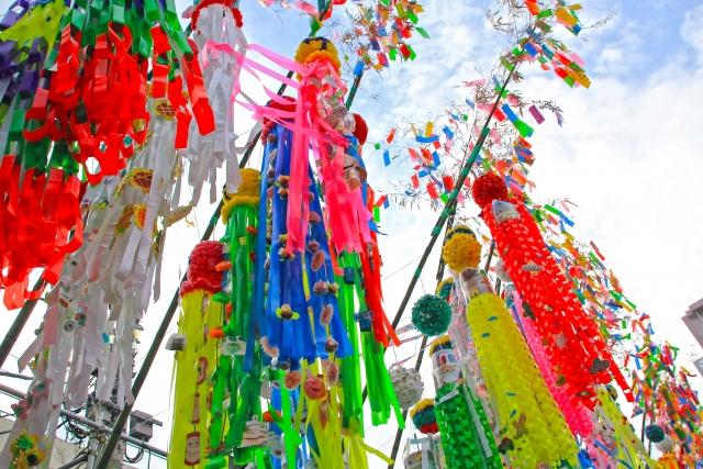安城七夕祭り2019の屋台の時間や場所や交通規制と駐車場