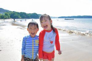 子供 海 日焼け対策