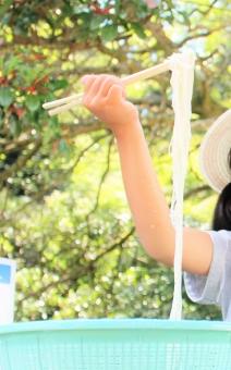 流しそうめんの竹の作り方や竹以外で雨樋やペットボトルを代用する方法