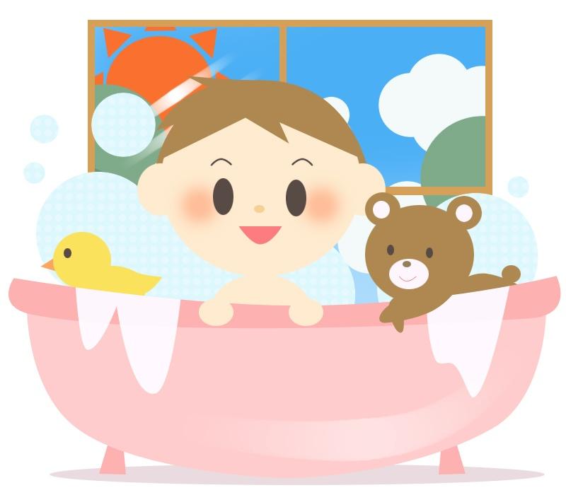 新生児の沐浴はいつまで?お風呂にするタイミングとベビーバスの活用法