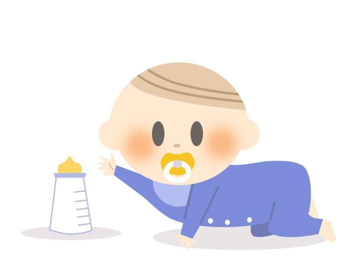 生後3ヶ月で体重が増えすぎる原因はミルク?肥満児にならない?