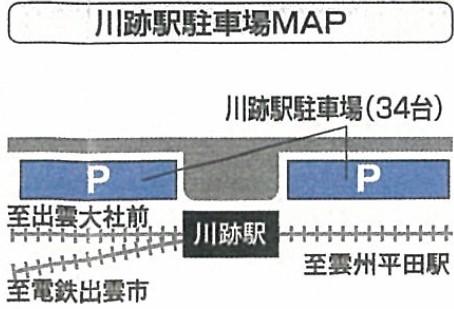 川跡駅・正月(初詣)臨時特設駐車場